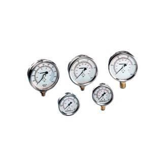 Manomètre et jauge de pression hydraulique Enerpac G2515L